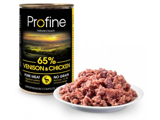 profine-pure-meat-venison-chicken-400g