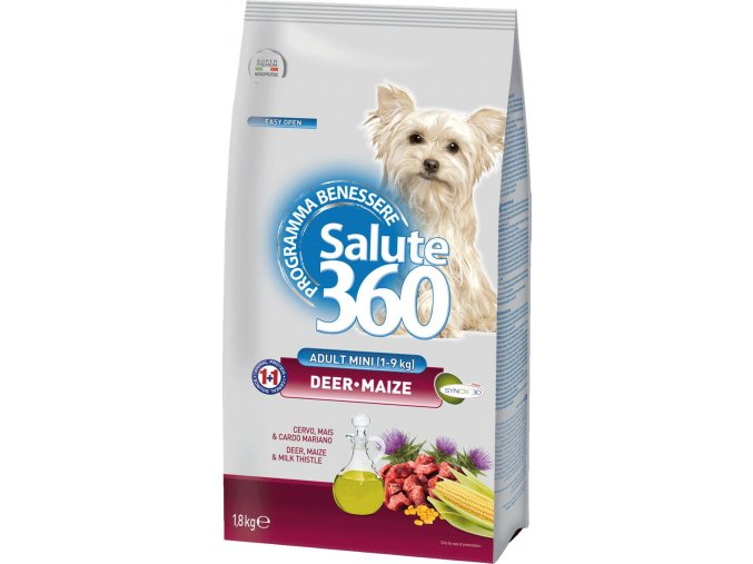 salute dog adult jelen kukurice small 1 8kg