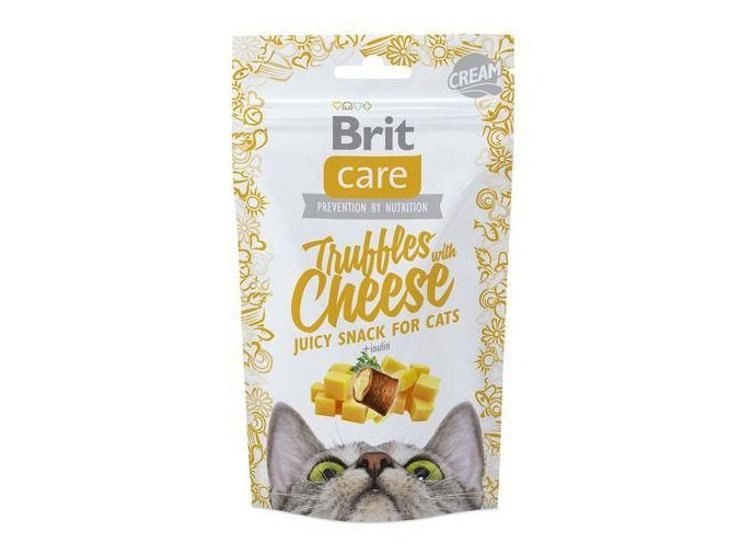 brit-care-cat-snack-truffles-cheese-50g