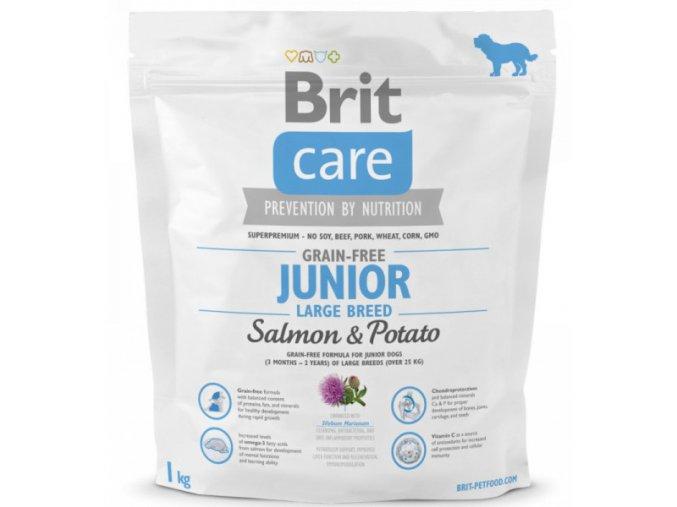 brit-care-grain-free-junior-large-breed-salmon--potato-1kg