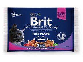 brit-premium-cat-pouches-rybi-mix-400g--treska--losos-pstruh