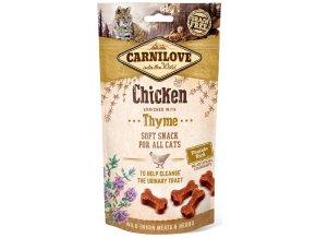 carnilove-cat-semi-moist-snack-chicken-thyme-50g