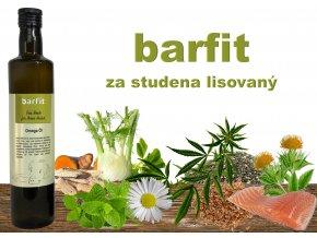 barfit olej – omega pětisložkový
