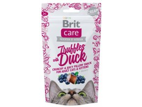 2334 brit care cat snack truffles duck 50g