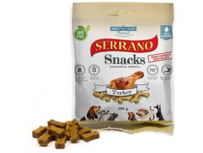 Serrano Snacks Mediterranean Natural turkey pavo bolsita