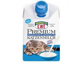perfecto cat premiove mleko pro kocky 200 ml