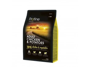 profine dog adult chicken potatoes 3kg