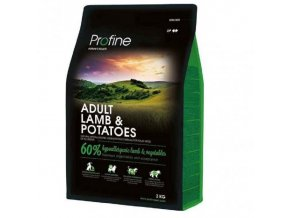 profine new dog adult lamb potatoes 3 kg
