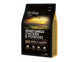 profine new dog adult large chicken potatoes 3kg