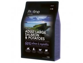 profine new dog adult large salmon potatoes 3kg