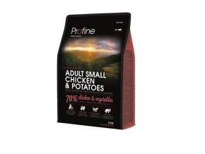 profine dog adult small chicken potatoes 2 kg