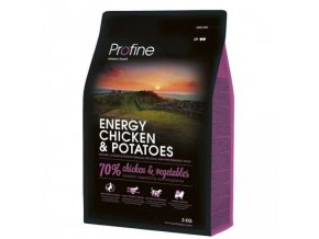 profine dog energy chicken potatoes 3kg
