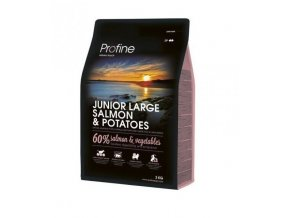 profine dog junior large salmon potatoes 3 kg