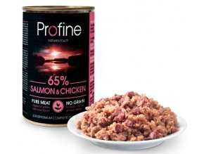profine-pure-meat-salmon-chicken-400g
