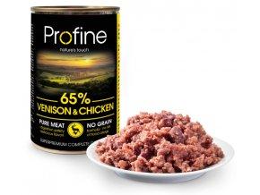 profine-pure-meat-venison-chicken-400g