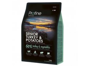 profine dog senior turkey potatoes 3kg