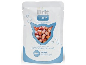 brit care catbrit-care-cat-tuna-pouch-80g