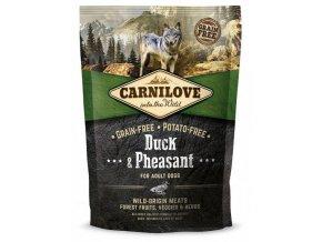 Carnilove Duck & Pheasant for adult 1,5kg   Tenesco.cz