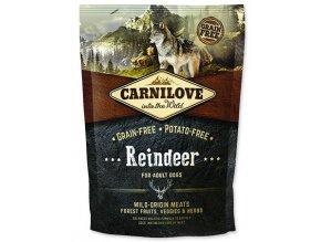 Carnilove Reindeer for adult 1,5kg   Tenesco.cz