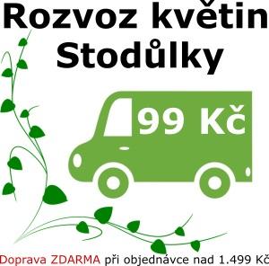 Rozvoz květin Praha Stodůlky