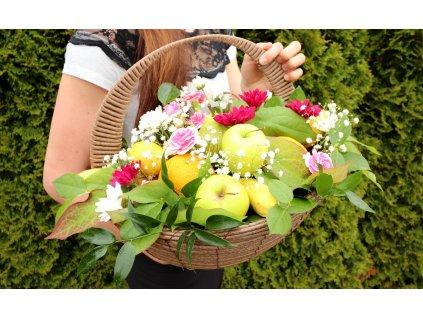 košík ovoce a květin (3)