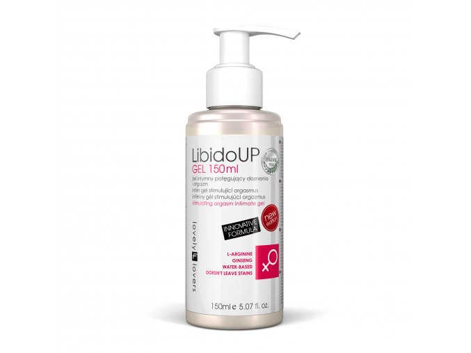 LibidoUP gel 150ml lubrikačný gél pre ľahký orgazmus