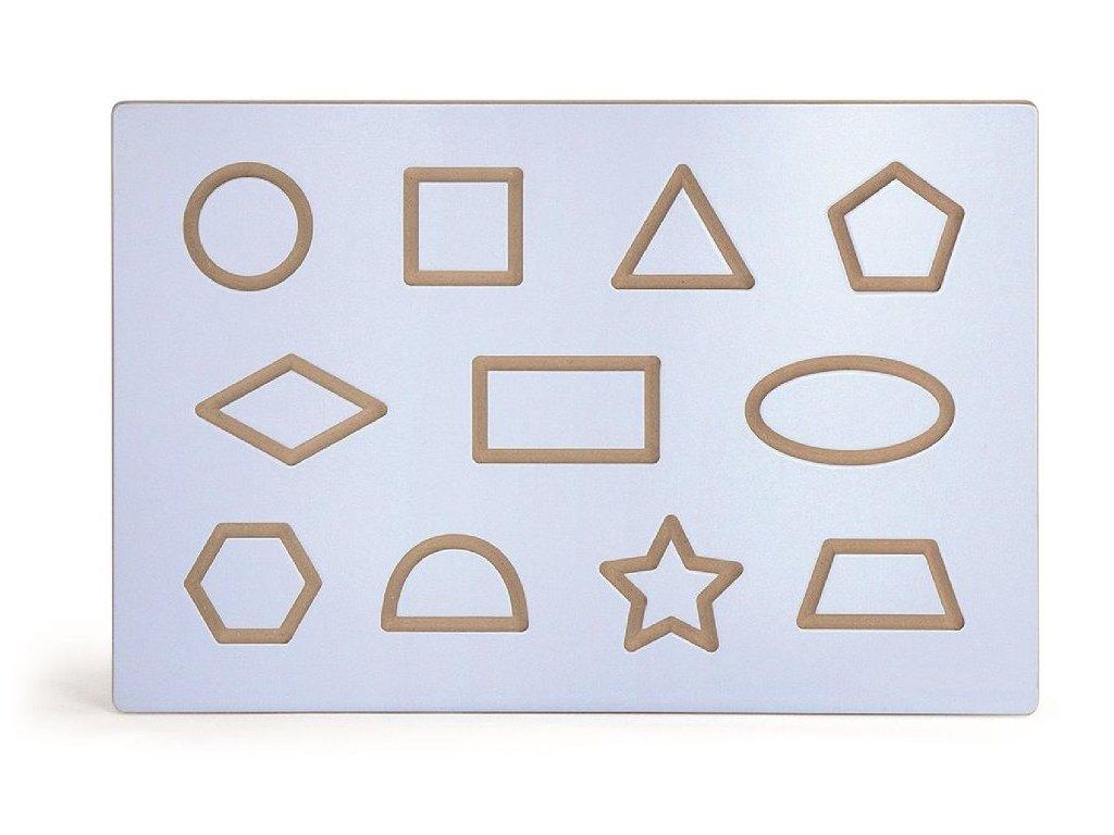 grafomotoricky labyrint tvary