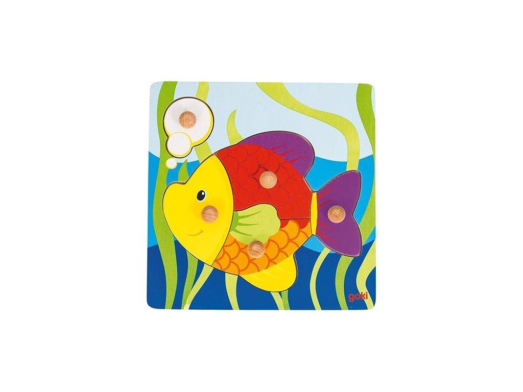 prve puzzle ryba