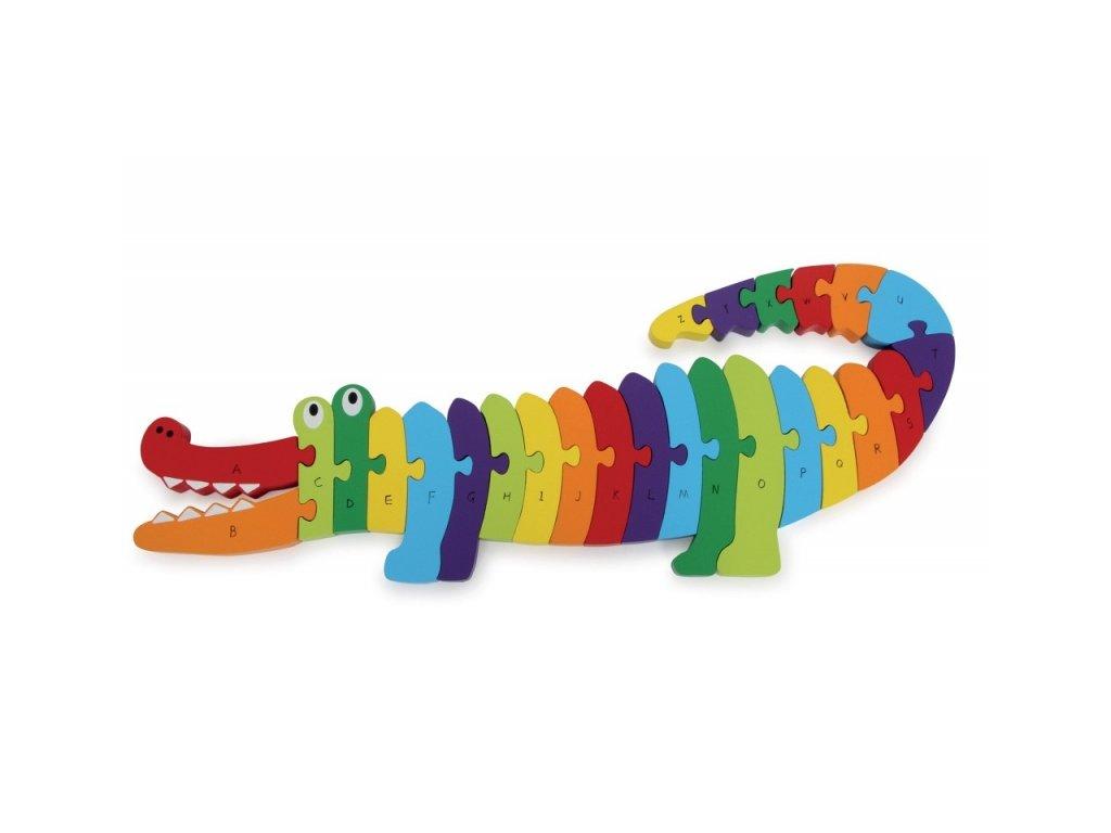 puzzle krokodil