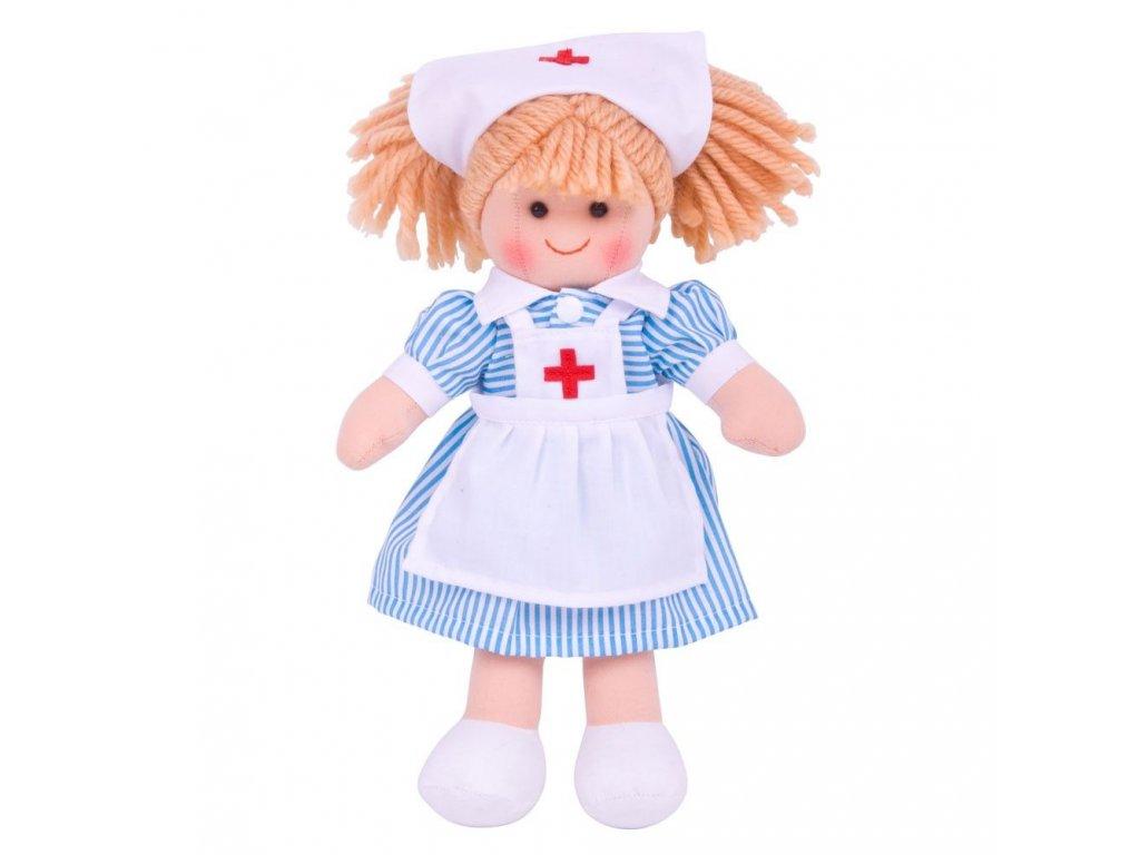 textilna babika zdravotna sestricka