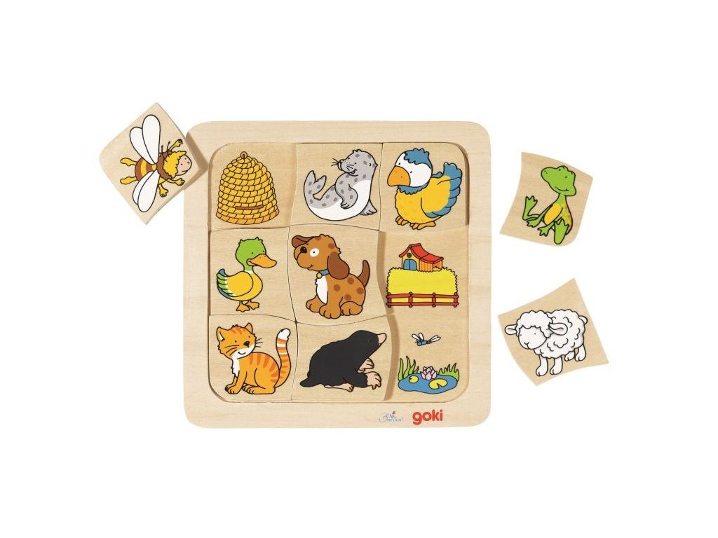 puzzle kde zvieratka ziju