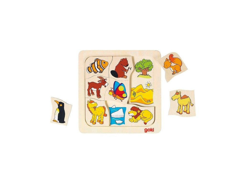 puzzle kde zvieratka ziju1