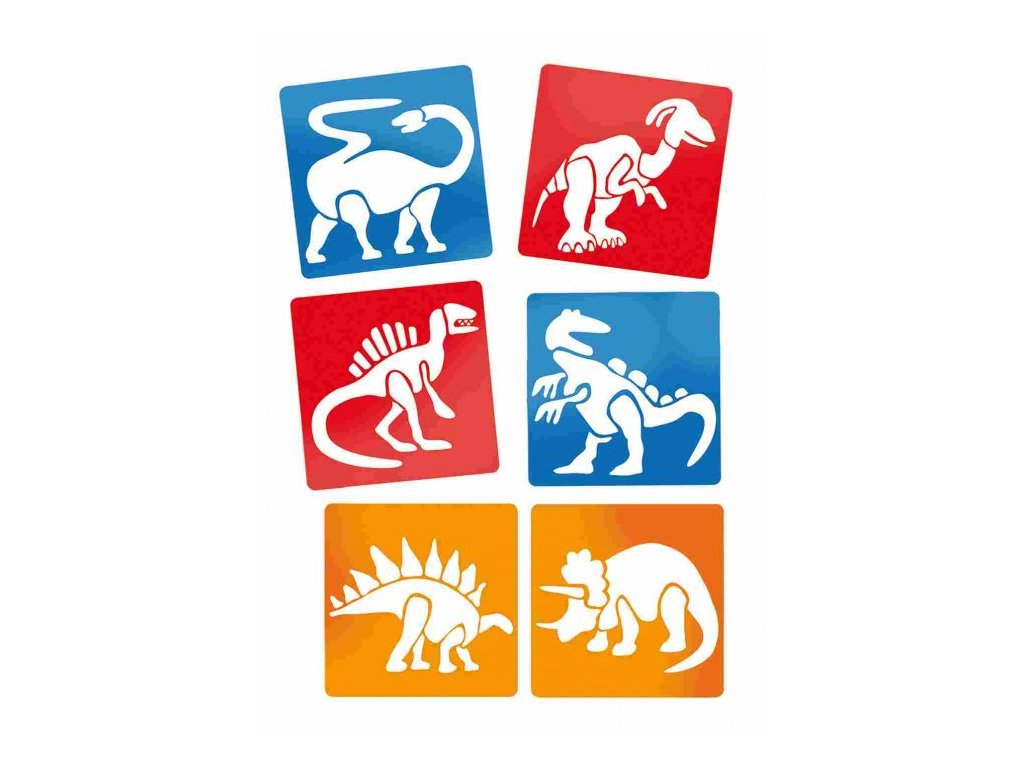 sablony dinosaury7