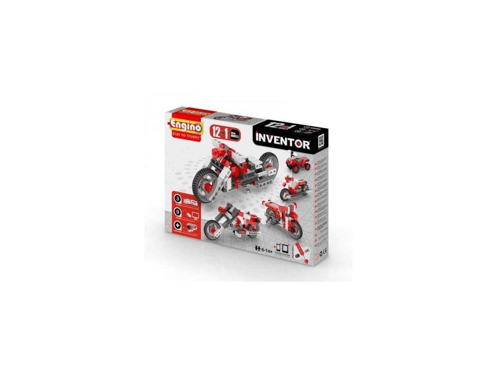 engino inventor12modelsmotorbikes