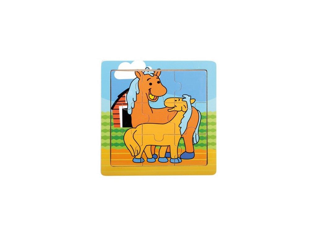 bino 88019 puzzle koniky