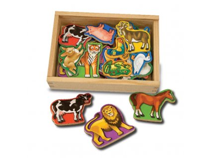 drevene magnetky zvierata (1)