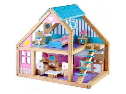 mentari dreveny domcek pre babiky