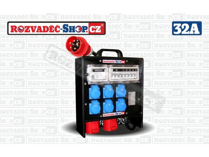 Přenosný rozvaděč kufr HPB-126-V32