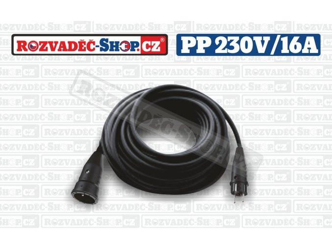 230V/16A, kabel H07RN-F 3G1,5