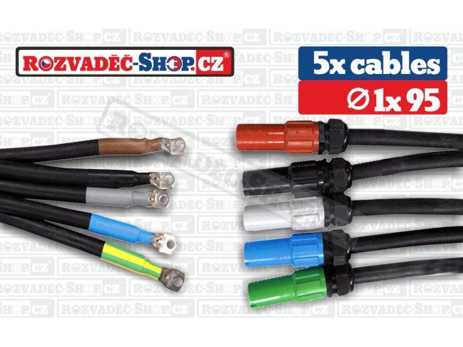 Powerlock source to lug cables fotky 1x95