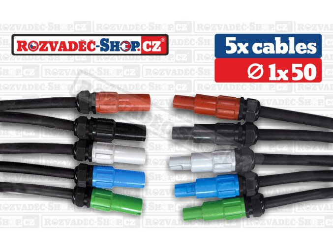 Powerlock to Powerlock cables fotky 1x50