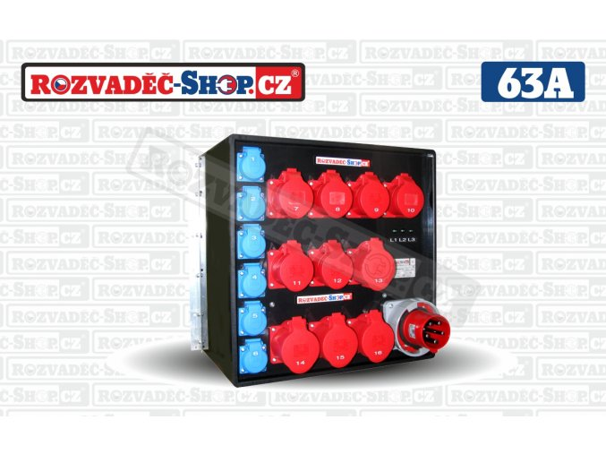 Rack rozvaděč  19 - 23-1063P