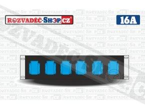 Rack rozvaděč 19-17-216V
