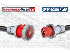 400V/63A/5P, kabel H07RN-F 5G16