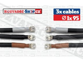 High voltage cables fotky 1x95
