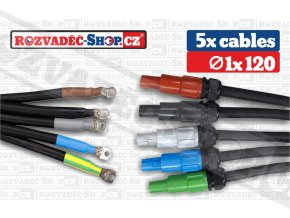 Powerlock drain to lug cables fotky 1x120