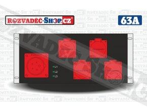 Rack rozvaděč 19-17-463P