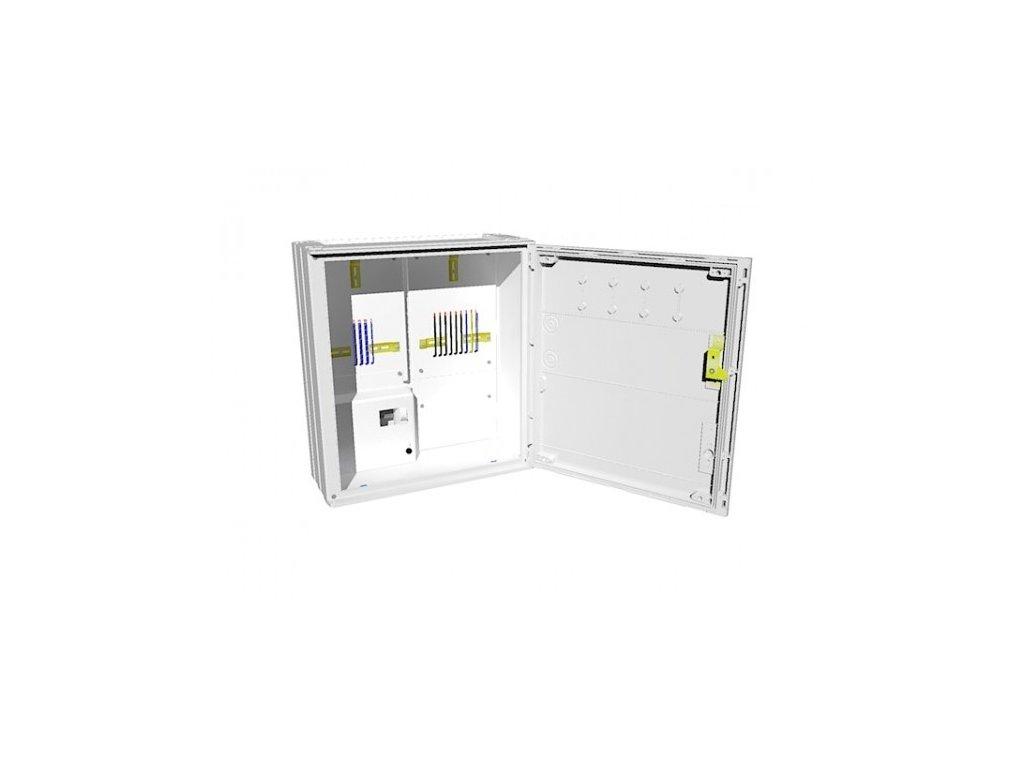 Elektroměrový rozvaděč PER 2/3f/40 3.1.3 vestavná, Elplast-KPZ