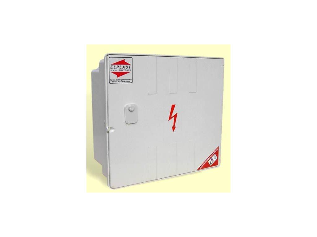 Přípojková skříň PS1 100A HH na sloup se zámkem, Elplast-KPZ