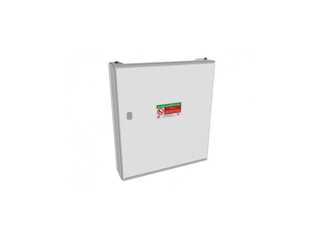 Plynoměrová skříň HUP PG6 3.0.3 (dvířka), Elplast-KPZ